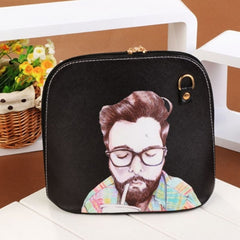 Hot Fashion Women Synthetic Leather Print Cross Bag Small Casual Party Messenger Bag Shoulder Bag - Oh Yours Fashion - 4