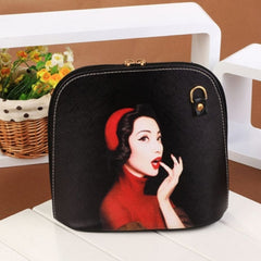 Hot Fashion Women Synthetic Leather Print Cross Bag Small Casual Party Messenger Bag Shoulder Bag - Oh Yours Fashion - 5