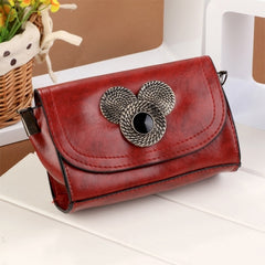 New Women Fashion Synthetic Leather Chain Shoulder Bag Handbags Casual Cross Bags - Oh Yours Fashion - 4