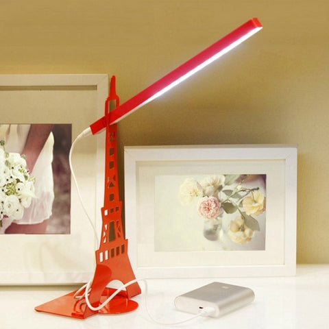 Fashion Modern Adjustable 3W Natural LED Eye-protection Table Lamp Work Study Desk Lamp