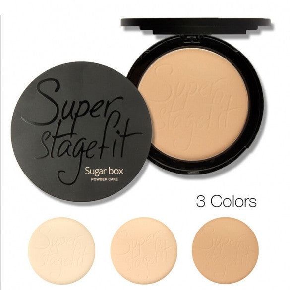 Women Cosmetic Wet And Dry Available Super Stage Fit Powder Cake With Box - Oh Yours Fashion - 1