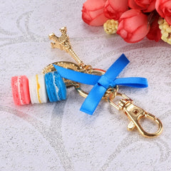 Hot Fashion Romantic Beautiful Women Bow Key Chains Rings Bag Charm Accessory Keychain - Oh Yours Fashion - 1