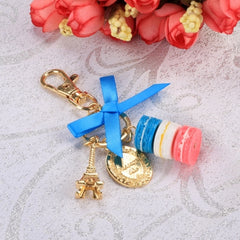 Hot Fashion Romantic Beautiful Women Bow Key Chains Rings Bag Charm Accessory Keychain - Oh Yours Fashion - 2