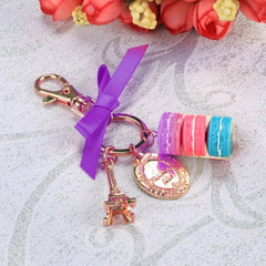 Hot Fashion Romantic Beautiful Women Bow Key Chains Rings Bag Charm Accessory Keychain - Oh Yours Fashion - 3