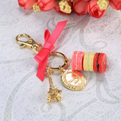 Hot Fashion Romantic Beautiful Women Bow Key Chains Rings Bag Charm Accessory Keychain - Oh Yours Fashion - 4
