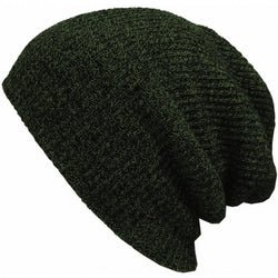 New Fashion Wool Blend Knit Unisex Men Women Beanie Oversize Spring Fall Winter Hat Ski Cap - Oh Yours Fashion - 2