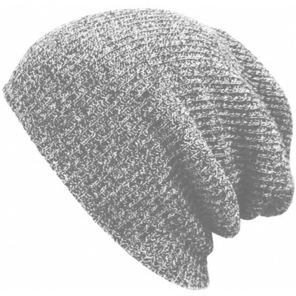 New Fashion Wool Blend Knit Unisex Men Women Beanie Oversize Spring Fall Winter Hat Ski Cap - Oh Yours Fashion - 7