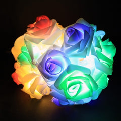 Romantic 2m Flower Rose Shape Home Garden Christmas Wedding Party Decoration Fairy String Light - Oh Yours Fashion - 3