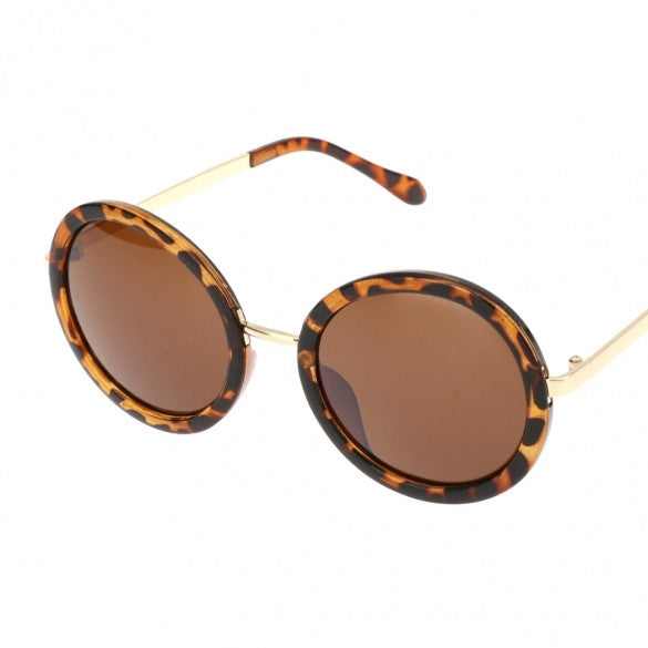Hot Fashion Unisex Vintage Style Plastic Frame Round Lens UV Protective Casual Outdoor Sunglasses - Oh Yours Fashion - 1