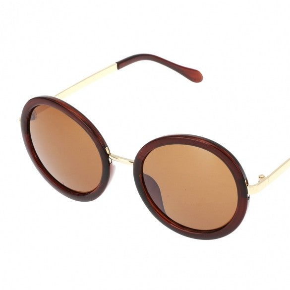 Hot Fashion Unisex Vintage Style Plastic Frame Round Lens UV Protective Casual Outdoor Sunglasses - Oh Yours Fashion - 2