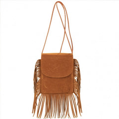 New Fashion Korean Style Girls Women Small Shoulder Bag Tassel Message Bag - Oh Yours Fashion - 5