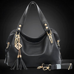 Women's Fashion Casual Leather Handbags Totes Purses 4 Colors - Oh Yours Fashion - 1