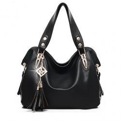 Women's Fashion Casual Leather Handbags Totes Purses 4 Colors - Oh Yours Fashion - 2