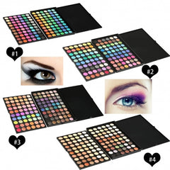 120 Color Professional Makeup Eye Shadow Shimmer Matte Cosmetic Eyeshadow Palette Set - Oh Yours Fashion - 1