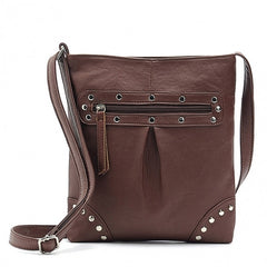 Women Ladies Leather Shoulder Bags Messenger Hobo Bag - Oh Yours Fashion - 4