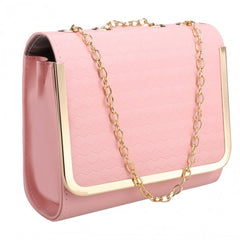 Candy Color Women Synthetic Leather Shoulder Chain Strap Casual Small Bag Messenger Tote - Oh Yours Fashion - 4