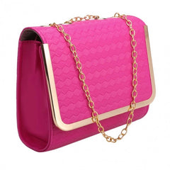 Candy Color Women Synthetic Leather Shoulder Chain Strap Casual Small Bag Messenger Tote - Oh Yours Fashion - 5