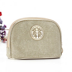 Women Portable Travel Bling Bling Zipper Cosmetic Makeup Bag Toiletry Case - Oh Yours Fashion - 3