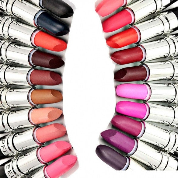20 Colors Lipsticks Makeup Cosmetic Moist Long-lasting Lip Gloss Lip Stick - Oh Yours Fashion - 1