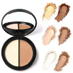 Blush Bronzer Highlighter Concealer Bronzer Contour Effects Palette Comestic Make Up With Mirror - Oh Yours Fashion - 3