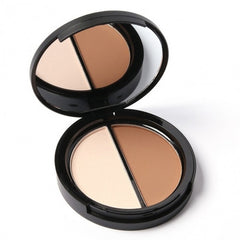 Blush Bronzer Highlighter Concealer Bronzer Contour Effects Palette Comestic Make Up With Mirror - Oh Yours Fashion - 5