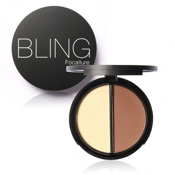 Blush Bronzer Highlighter Concealer Bronzer Contour Effects Palette Comestic Make Up With Mirror - Oh Yours Fashion - 1