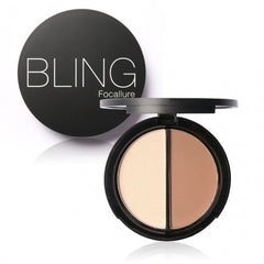Blush Bronzer Highlighter Concealer Bronzer Contour Effects Palette Comestic Make Up With Mirror - Oh Yours Fashion - 4