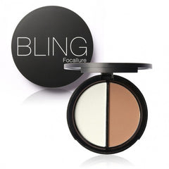 Blush Bronzer Highlighter Concealer Bronzer Contour Effects Palette Comestic Make Up With Mirror - Oh Yours Fashion - 6
