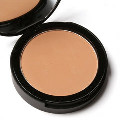 3 Colors Face Powder Bronzer Highlighter Shimmer Face Pressed Powder Contour Makeup Cosmetics With Mirror And Puff - Oh Yours Fashion - 4
