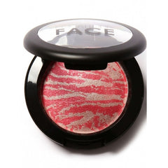 6 Colors Cheek Makeup Baked Blush Bronzer Blusher With Blush Brush - Oh Yours Fashion - 1