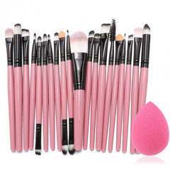20pcs Makeup Brushes Kit Powder Foundation Eyeliner Eyeshadow Lip Brush Comestic Tool - Oh Yours Fashion - 7