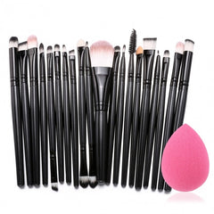 20pcs Makeup Brushes Kit Powder Foundation Eyeliner Eyeshadow Lip Brush Comestic Tool - Oh Yours Fashion - 2