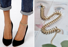Beautiful Fish Bone Anklet - Oh Yours Fashion - 3