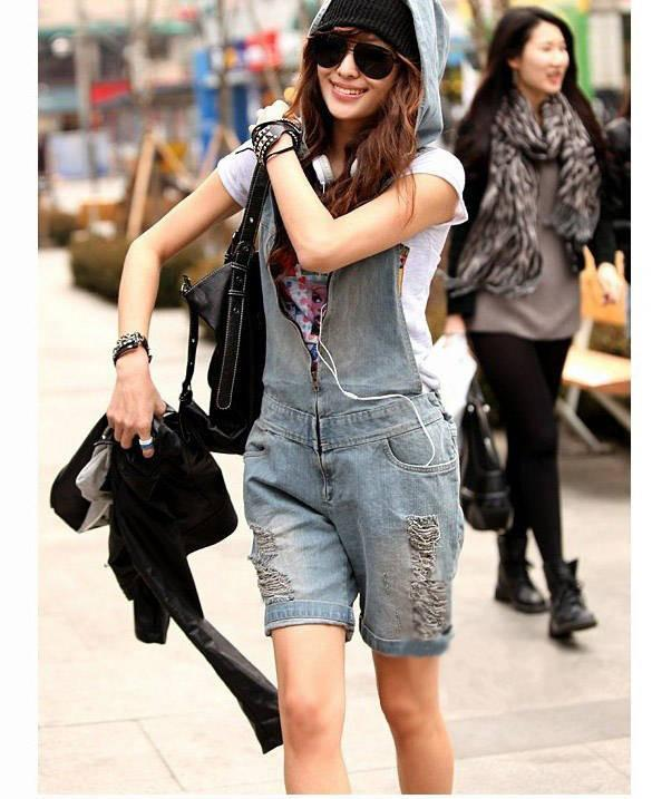 Retro Hole Zipper V-neck Casual Cap Sleeveless Jumpsuits - Meet Yours Fashion - 2