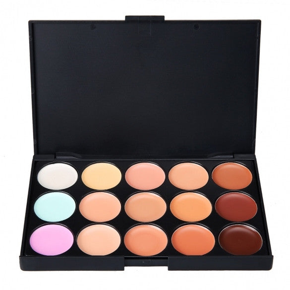 Kissemoji 15 Color Concealer Makeup Palette - Oh Yours Fashion