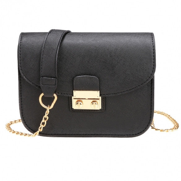 New Fashion Women Synthetic Leather Mini Chain Handbag Shoulder Bag - Oh Yours Fashion - 1