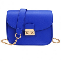 New Fashion Women Synthetic Leather Mini Chain Handbag Shoulder Bag - Oh Yours Fashion - 3