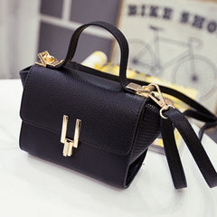 New Women Handbag Synthetic Leather Flap Bag Casual Party Soft Shoulder Bag Messenger Bag - Oh Yours Fashion - 2
