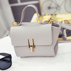 New Women Handbag Synthetic Leather Flap Bag Casual Party Soft Shoulder Bag Messenger Bag - Oh Yours Fashion - 3