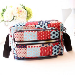 Women Casual Nylon Messenger Bag Shoulder Bag Cosmetic Bags Handbag - Oh Yours Fashion - 3