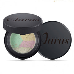 3 Colors In 1 Loose Powder Bare Mineral Polishing Longlasting Face Powder With Mirror And Puff - Oh Yours Fashion - 2
