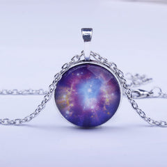 Beautiful Starry Sky Time Diamond Necklace - Oh Yours Fashion - 4