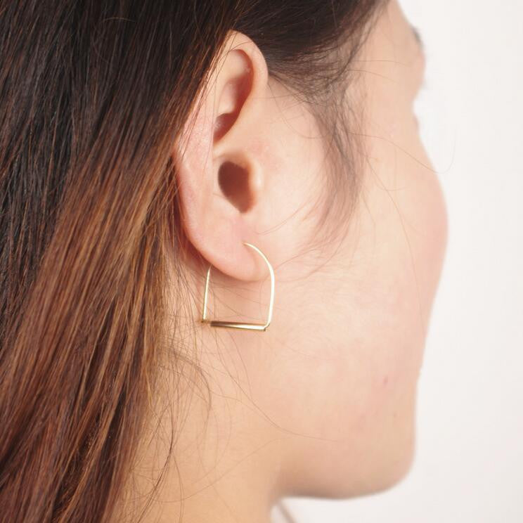 Fashionable Arch Joker Earrings - Oh Yours Fashion - 1