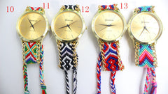 Handmade DIY Woven Bracelet Watch - Oh Yours Fashion - 4