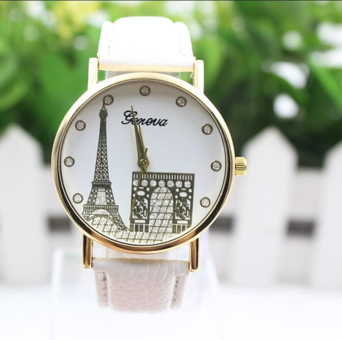 Building Design Print Leather Watch - Oh Yours Fashion - 7