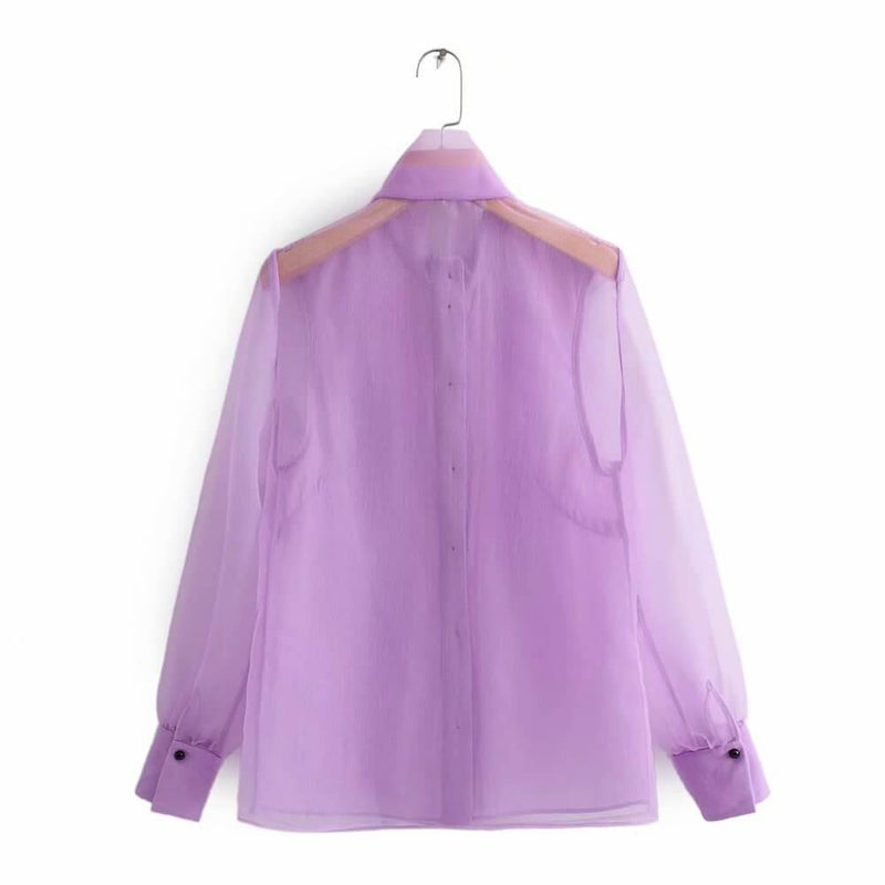 Bow Loose Blouse