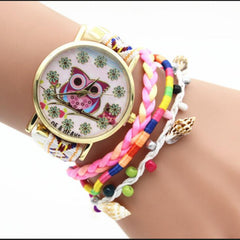 Owl Multilayer Bracelet Watch - Oh Yours Fashion - 1