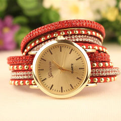 Fashion Rivet Bracelets Watch - Oh Yours Fashion - 2