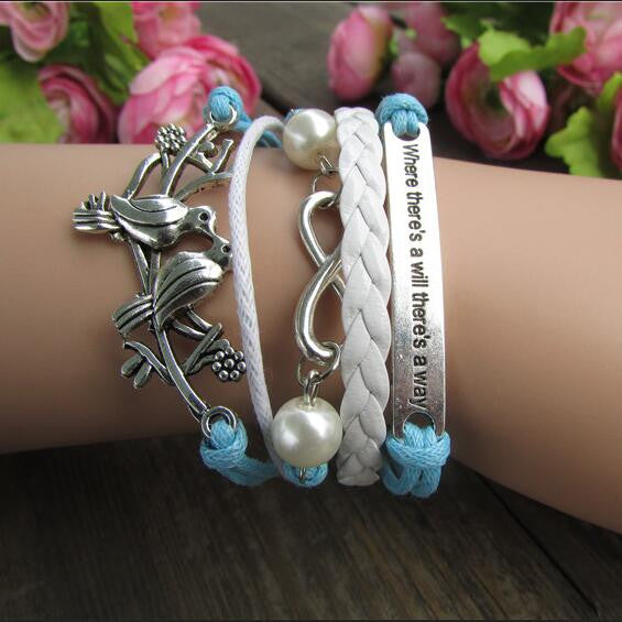 Retro Dove Fashionable Beautiful Hand-made Bracelet - Oh Yours Fashion - 1