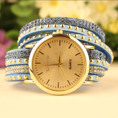 Fashion Rivet Bracelets Watch - Oh Yours Fashion - 7